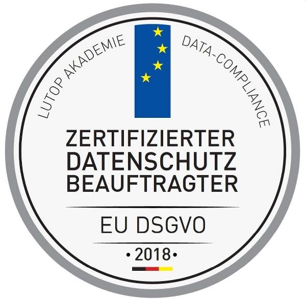 Zertifizierter Datenschutzbeauftragter (LUTOP Datenschutz Akademie GmbH)
